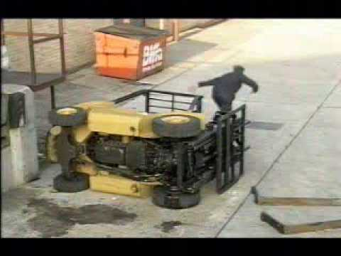 5. FORKLIFT SAFETY Take extra care on loading docks
