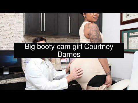 Big booty cam girl Courtney Barnes