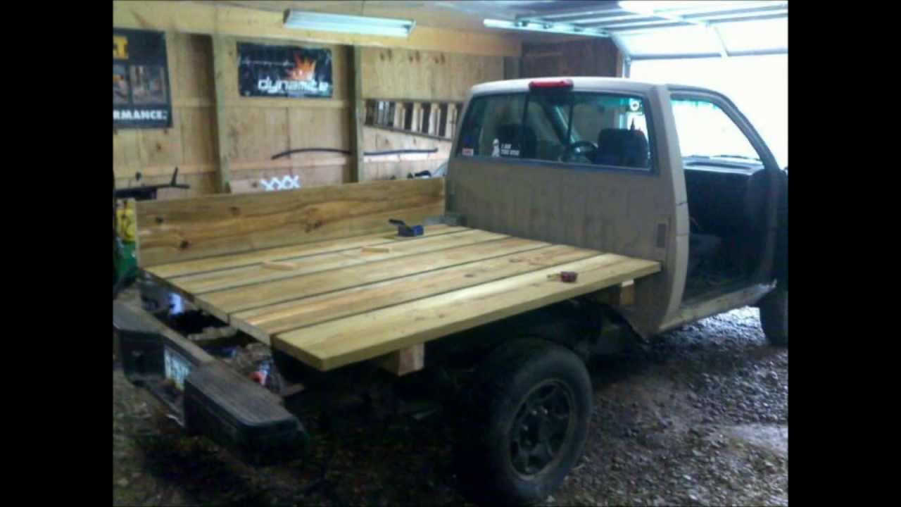 Nissan Hardbody / Toyota Pickup Truck How To Wooden ...
