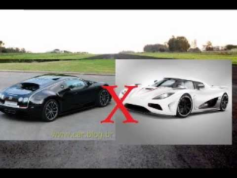 bugatti veyron super sport vs koenigsegg agera r youtube. Black Bedroom Furniture Sets. Home Design Ideas
