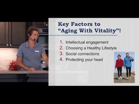 Alzheimer Awareness - Aging with Vitality: Stay Mentally Active / Work Your Body / Feed Your Brain