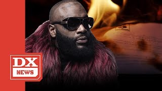 "Rick Ross Burns Lil Wayne's Cash Money Contract In ""Idols Become Rivals"" Video"
