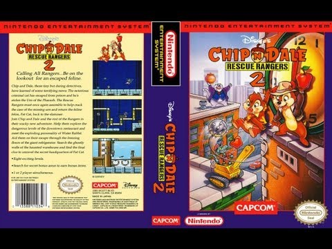 Chip 'n Dale Rescue Rangers 2 NES Gameplay Longplay (Полное прохождение)