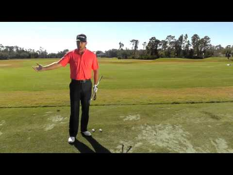 Graeme McDowell's 80-yard pitch shot lesson