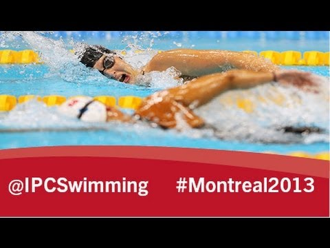 2013 IPC Swimming World Championships Montreal, Sunday 18 August, evening session