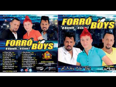 Forró Boys - Vol 4 - CD Completo 2013