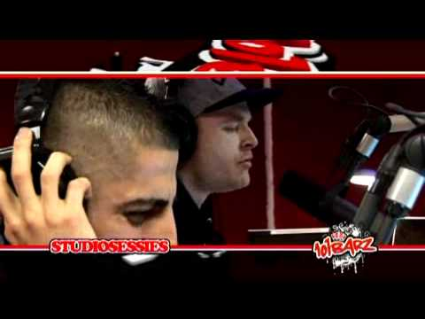 RBDJAN, Sticks & Adje - 101BARZ Studiosessie (15 Jaar Top Notch)