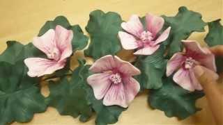 """apoyo del Instructorado de flores de goma eva sin moldes"""" más info en ..."""
