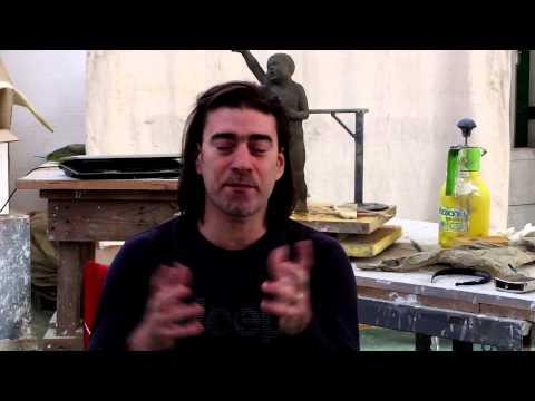 La Memoria della Pietra - Milan Garcia (marmo e creta)