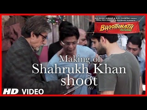 Shahrukh Khan Shooting for Bhoothnath Returns | Exclusive Video