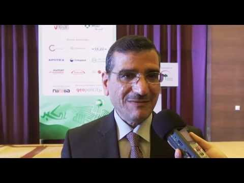 Dr Hassan Kazaz at Iraq Health Summit