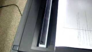 Dell Printer Problem Vertical/Horizontal Line During