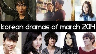 Top 5 New 2014 Korean Dramas [ March ] Top 5 Fridays