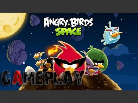 Angry Birds Space Gameplay (PC/HD),