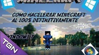 Como Quitar El Lag A Minecraft 1.7.2 Al 100%