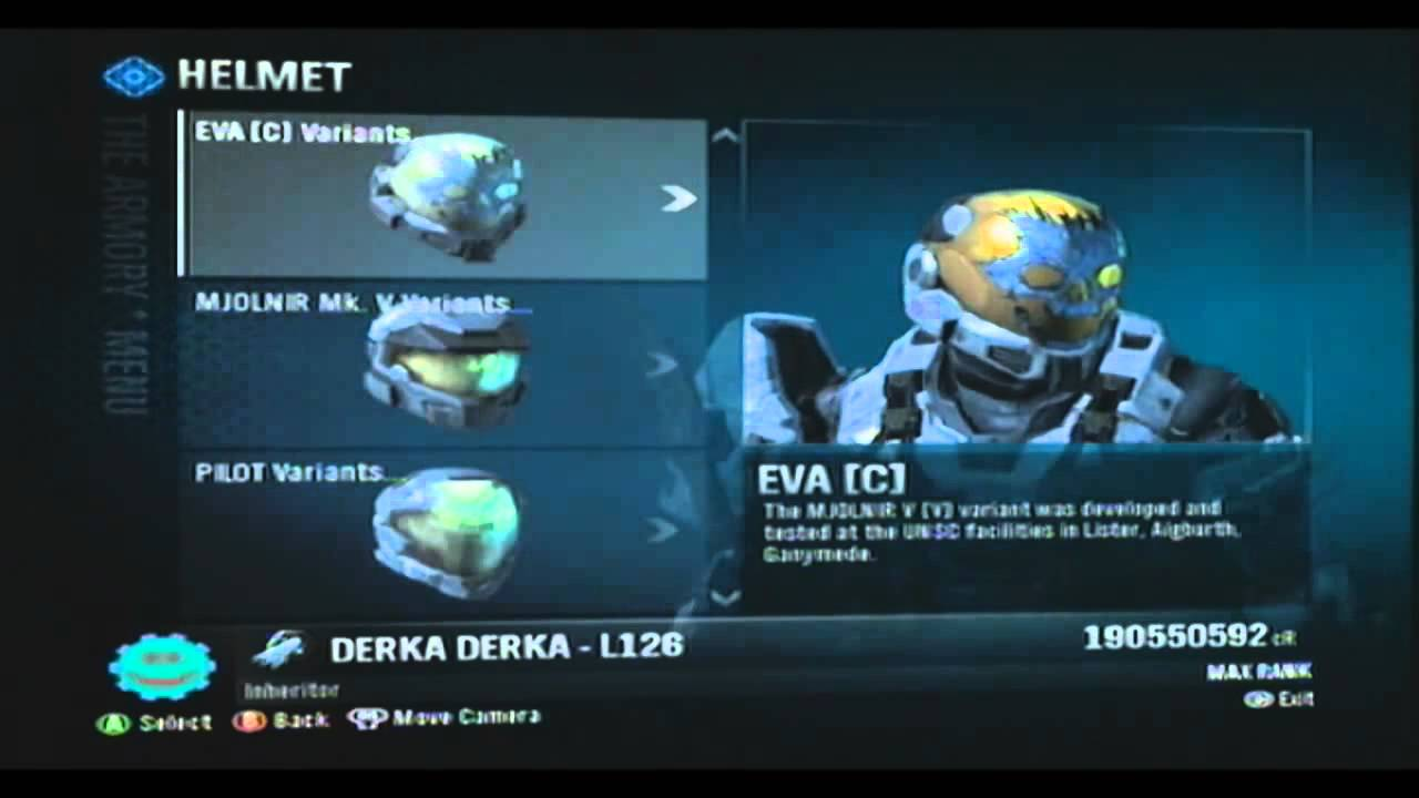 Halo Reach Inheritor Helmet Related Keywords & Suggestions - Halo