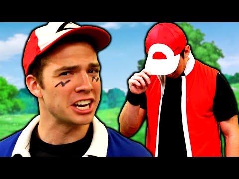 Ash vs Red RAP BATTLE