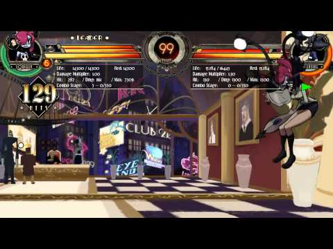 Skullgirls - Squigly Double Snapping