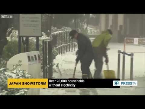 Several dead, thousands injured as heavy snow storms batter Japan