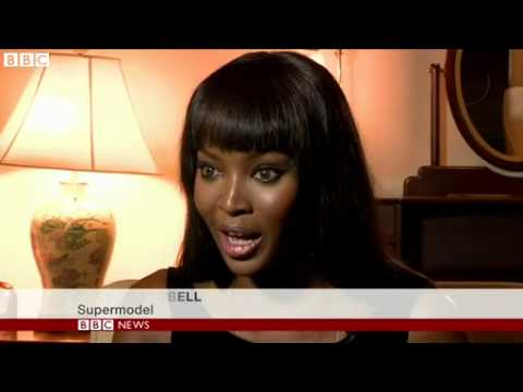 BBC News Naomi Campbell exposing racism in fashion industry