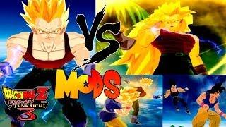 Vegeta GT Vs Goku GT Dragon Ball Z Tenkaichi 3 MODS (PCSX2