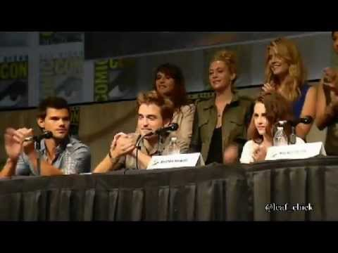 Twilight Breaking Dawn part 2 Comic Con 2012 panel