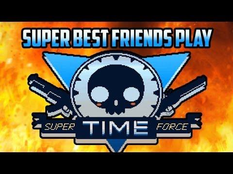 Super Best Friends Play Super Time Force!