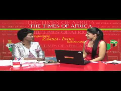 The Times of Africa conducted an interview with H E Susan Sikaneta, High Commissioner.