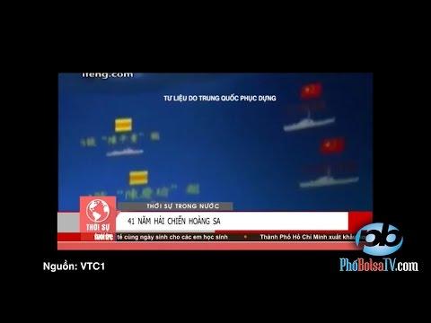 41 năm hải chiến HS - Danh xưng và cờ VNCH trên TV trong nước