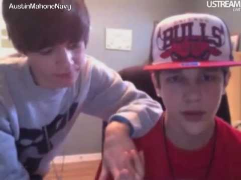 Austin Mahone USTREAM Friday February 24th 2012 Part 3 of 4 [5PM]