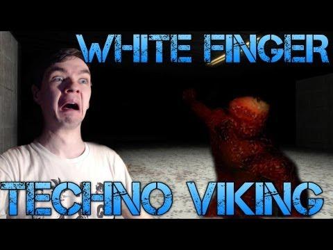 White Finger - TECHNO VIKING - Indie Horror Gameplay/commentary