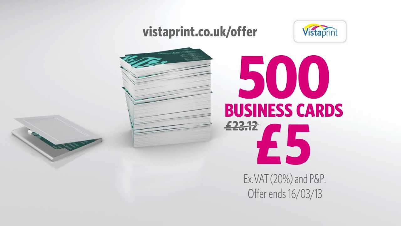 Vistaprint TV Advert BUSINESS CARDS Handyman