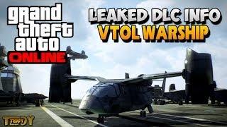 GTA 5 DLC VTOL Warship, Horses & Yachts Leaked In GTA V