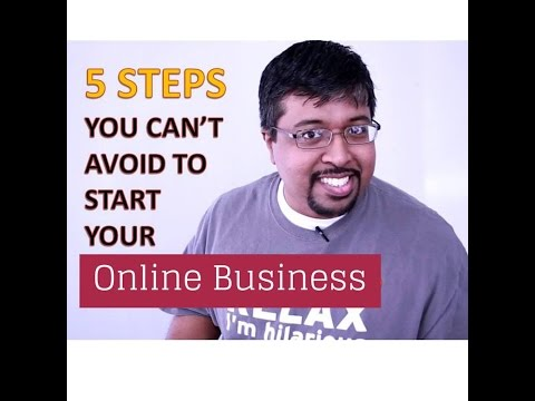 The Optimization Guy - Episode 2 - Five Steps To Start Your Business Online
