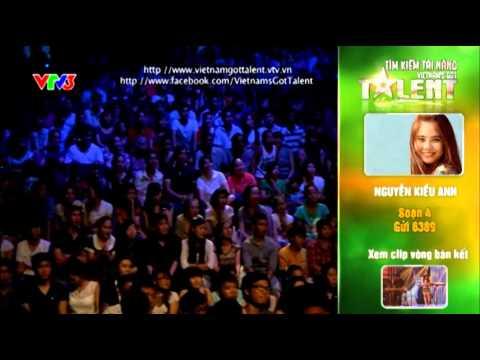 Vietnam's Got Talent 2012 - Chung Kết 2 - Nguyễn Kiều Anh- MS 4