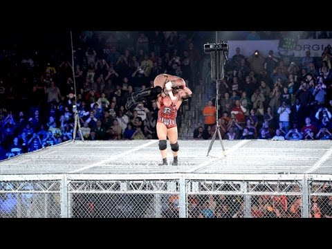 WWE Hell In A Cell 2012: Ryback vs CM Punk - WWE Championship Match