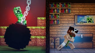"♫ ""Wrecking Mob"" A Minecraft Parody Of Miley Cyrus"