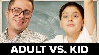 Adults Vs. Kids: Basic Math