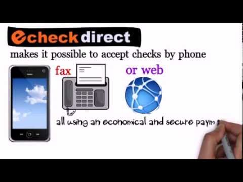 checks by internet | echeck direct | (818) 538-7885 | accept checks by phone