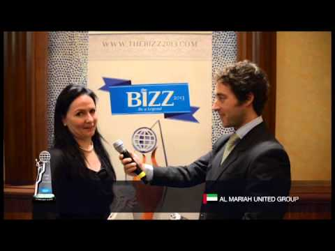 THE BIZZ 2013 -  INTERVIEW AL MARIAH UNITED GROUP