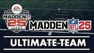 Madden 25 Ultimate Team #59: Pro Pack Opening!