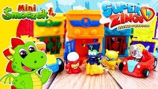 SuperZings - Czy Superbohaterowie Złapią ENIGMĘ? Super Zings Zabawki Bajki Dla Dzieci Po Polsku