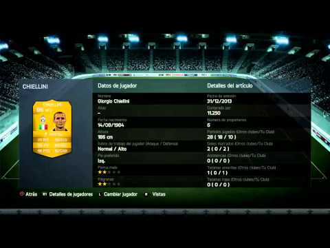 Plantilla Serie A FUT 14 60.000 Monedas - FIFA 14 PS4 Gameplay