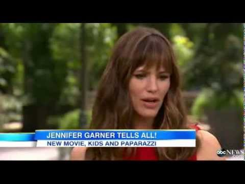 Jennifer Garner Interview 2013- Ben Affleck -
