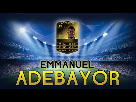 FUT14 | Player Review | Emmanuel Adebayor IF (BU : 81) ! [FR]