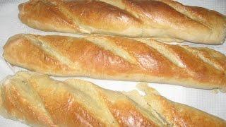 Como hacer pan francés / baguette
