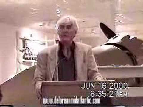 John Z Delorean Speaks To Dcs 2000 Youtube