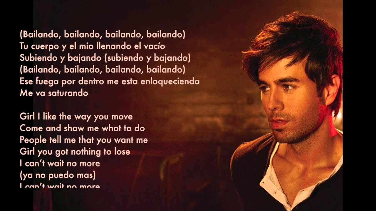 Bailando english version by enrique iglesias ft sean paul lyrics