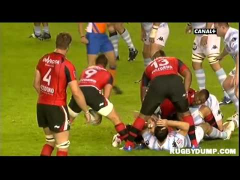 Tries in France 2011 2012 quarter final Toulon - Racing Metro