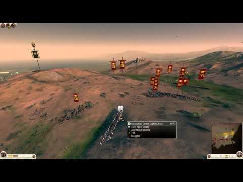 Total War: Rome 2 Spectator Battle #2 - Disorganized Assaults
